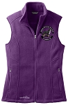 New! Embroidered Eddie Bauer Fleece Vest (Ladies)