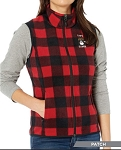 Happy Camper Fleece Vest (Ladies)