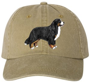 "This versatile, weathered cap is beautifully embroidered with the dog from the BMDCA logo on the front (mock-up shown) and ""BMDCA"" on the back. Available in Oak (shown).<p/>See Description below for product details."