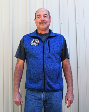 The comfort of a sweater joins the unbeatable warmth of fleece in this modern vest. Contrast binding at the pockets heightens the visual appeal. Available in Gray or Blue (shown here). See Description below for product details.(shown in size XL)