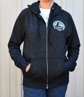 Become a beacon of bling while staying toasty in this full-zip sparkle hoodie. The photo doesn't do it justice!<p/>See Description below for product details.